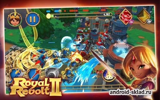 Royal Revolt 2 - стратегический экшн на Android
