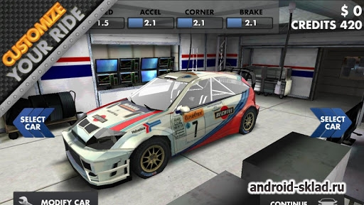 World Rally Racing HD - ралли на Андроид