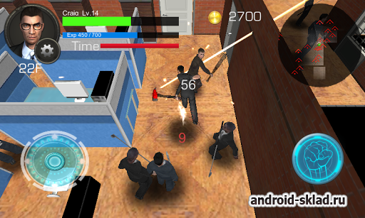 Office Worker Revenge 3D - погром в офисе на Android