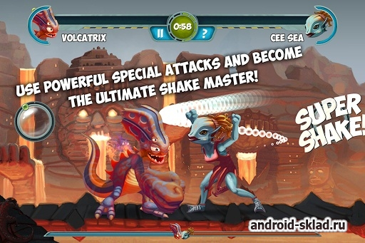 Monster Shake - ������ � ��������� �� Android