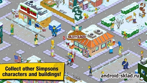 The Simpsons Tapped Out - симпсоны на Андроид