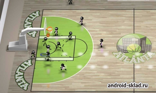 Stickman Basketball - стикманы и баскетбол