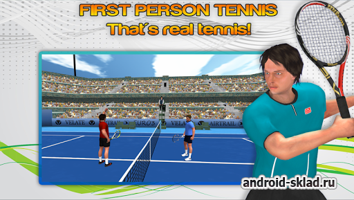 First Person Tennis World Tour - большой теннис