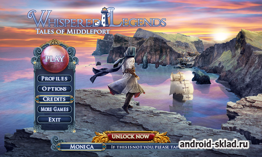 Whispered Legends Full - ищем предметы на Android