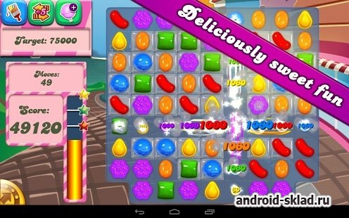 Candy Crush Soda Saga - сага в стиле