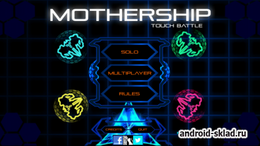 Mothership Touch Battle - а теперь жанр аркады