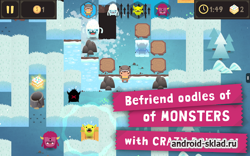 Monsters Ate My Birthday Cake - игра с монстриками