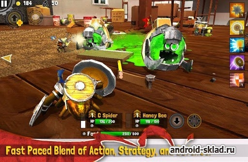 Bug Heroes 2 - ����� � ������������� ��� Android
