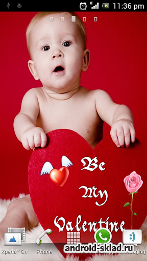 Cute Baby Live Wallpaper - ���� � ��������