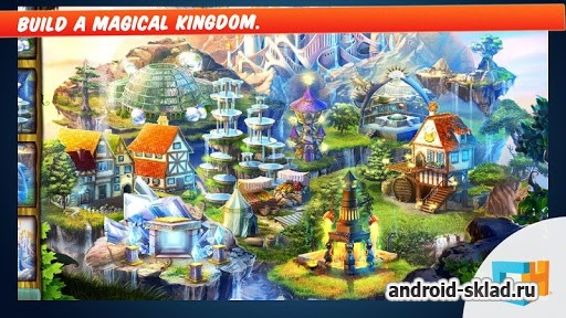 Jewel Legends Magical Kingdom - игра три в ряд