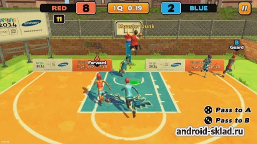 Street Dunk 3 on 3 Basketball - стрит бол