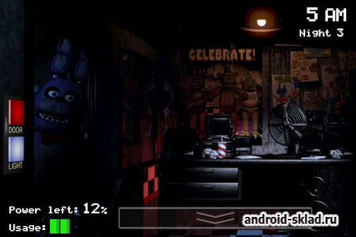 Five Nights at Freddy's - хоррор