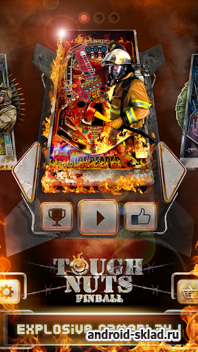Tough Nuts Pinball - пинтбол на андроид
