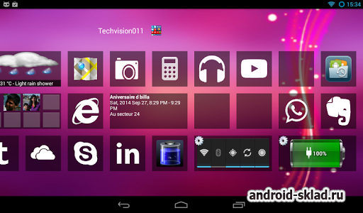 Home8 like Windows 8 Launcher