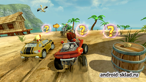 Beach Buggy Racing - топовые гонки на Android