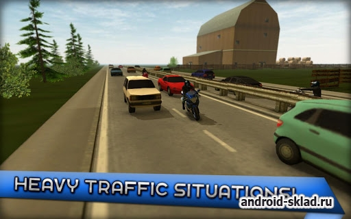 Motorcycle Driving School - симулятор мотоцикла на Android