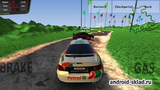 Rally Champions 3 - ралли на Android