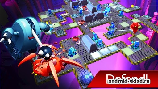 The Bot Squad Puzzle Battles - роботы и пазлы