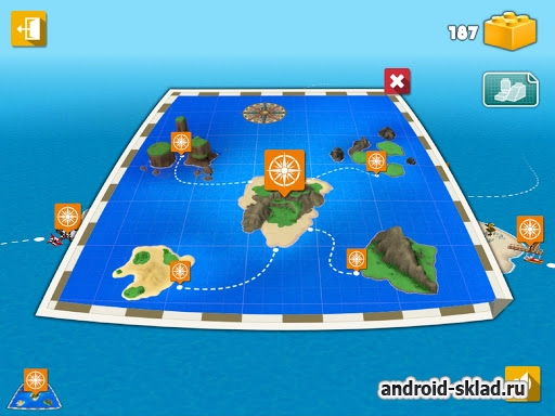 LEGO® Creator Islands - игра от The LEGO Group