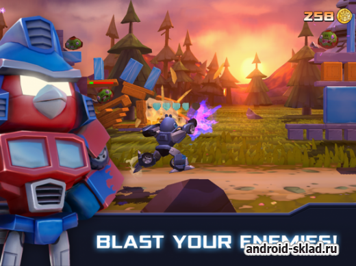 Angry Birds Transformers - ����������� ������ �� Android
