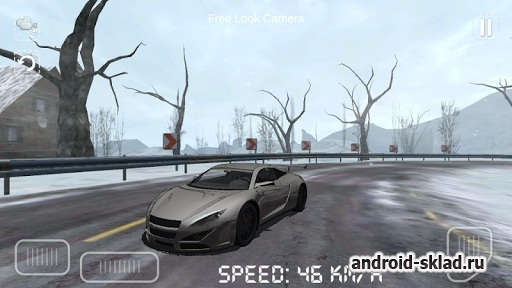 Winter Drive 3D - зимние гонки на Android