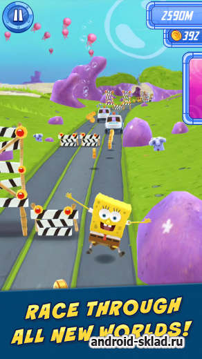 SpongeBob Sponge on the Run