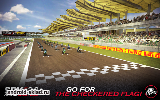 SBK14 Official Mobile Game - крутые мотогонки