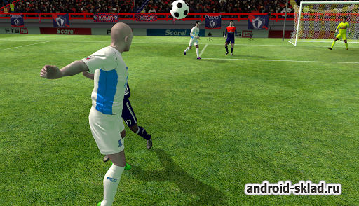 First Touch Soccer 2015 - футбол на Андроид