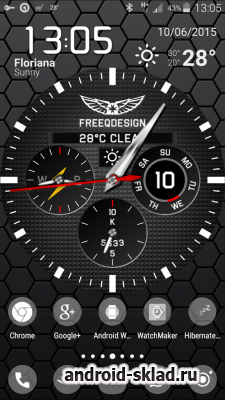 WatchMaker Live Wallpaper - обои с часами