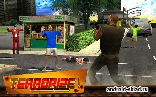 Gangster of Crime Town 3D - эмулятор преступника на Android
