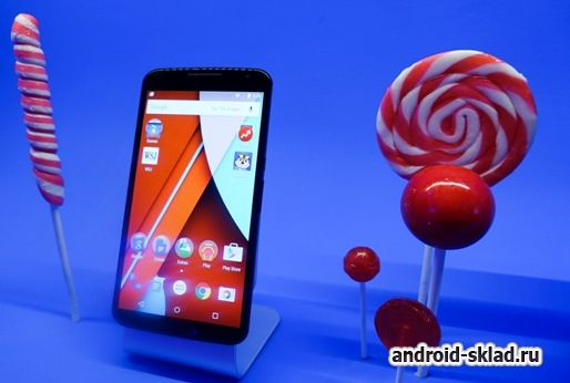 ���������� ������������ ������� �� ������� - Android 5.1 Lollipop
