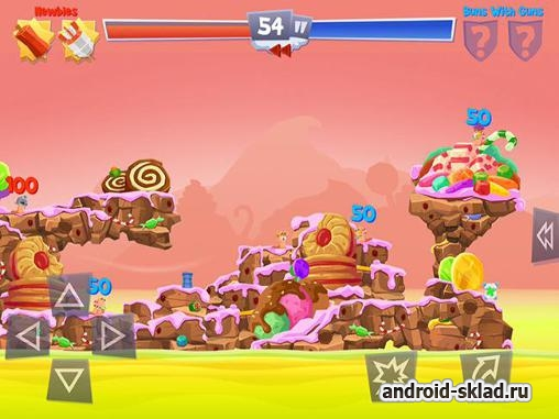 Worms 4 - ����� �������� �� Android