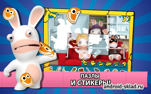 Rabbids Appisodes - ���������� ������������� ������� ����������� �� Android