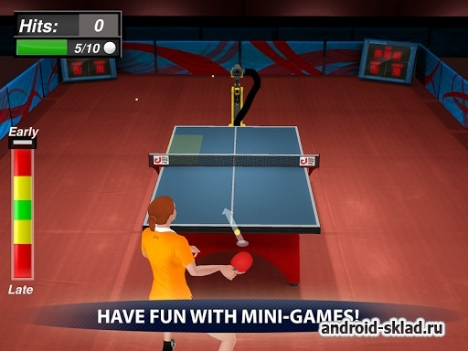 Table Tennis Champion - настольный тенис для Android
