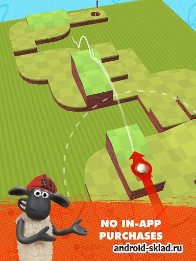 Shaun the Sheep - мини гольф для Android
