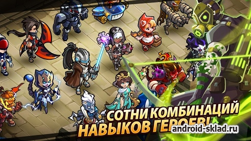 Magic Rush Heroes - ��������� ����� � ���������� RPG �� �������