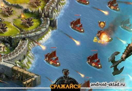 Vikings War of Clans - стратегия времен викингов на Андроид
